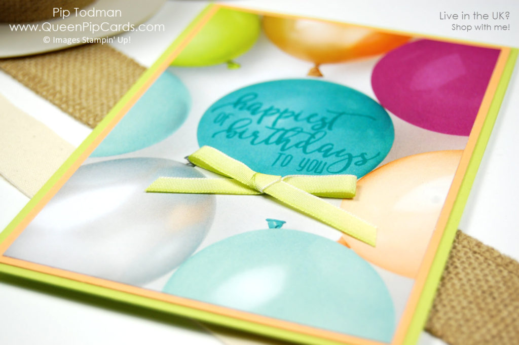 Picture Perfect Party papers are beautiful and fun!  Pip Todman Crafty Coach & Stampin' Up! Demonstrator in the UK Queen Pip Cards www.queenpipcards.com Facebook: fb.me/QueenPipCards  #queenpipcards #stampinup #papercraft #inspiringyourcreativity