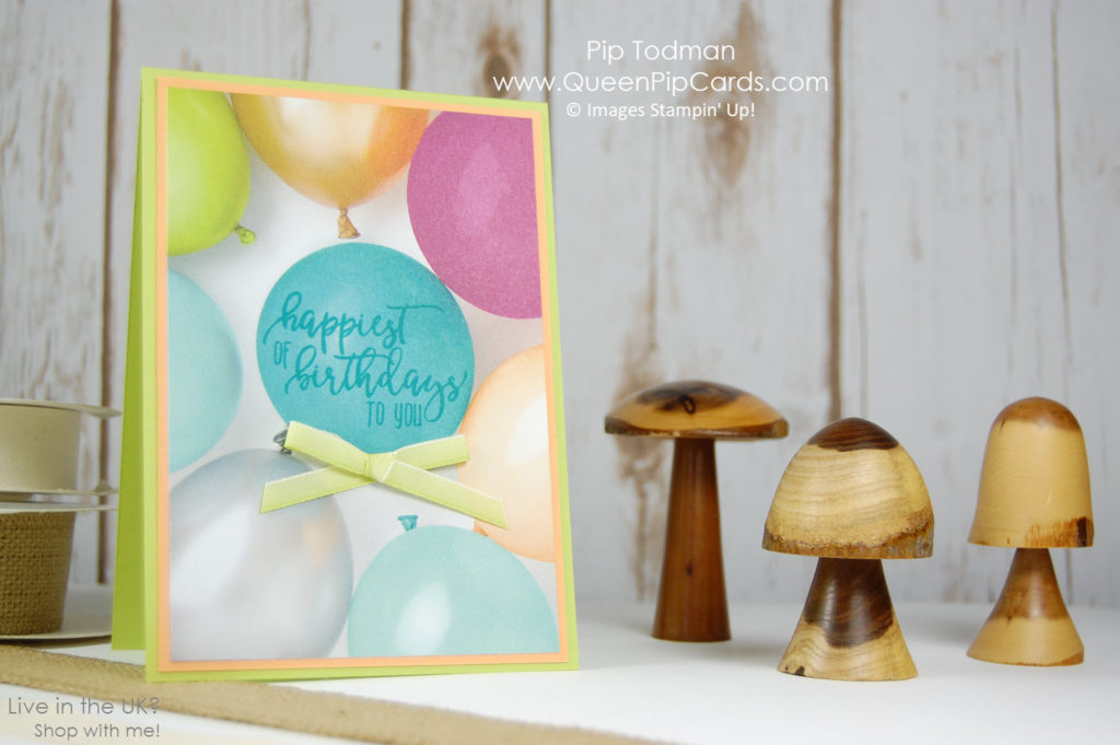 Picture Perfect is Perfect for your Birthday Cards or any celebration cards. Check out this video to see how easy to use it is!  Pip Todman Crafty Coach & Stampin' Up! Demonstrator in the UK Queen Pip Cards www.queenpipcards.com Facebook: fb.me/QueenPipCards  #queenpipcards #stampinup #papercraft #inspiringyourcreativity