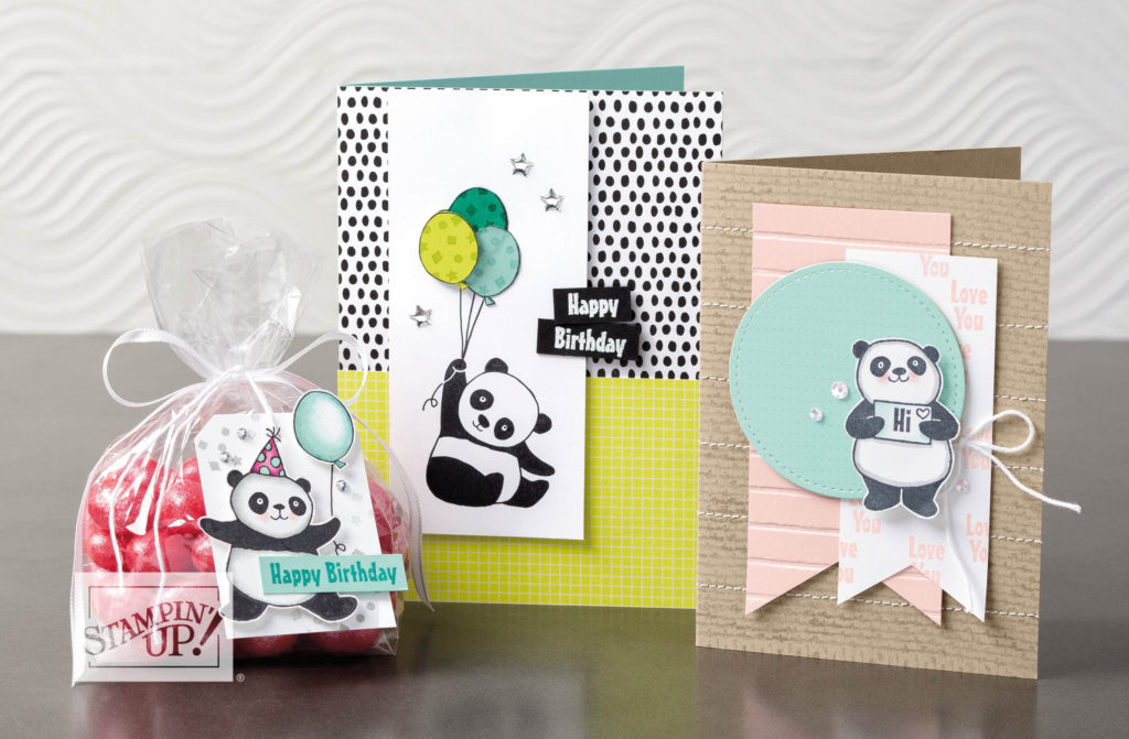 My Party Panda Product Spotlight! Pip Todman Crafty Coach & Stampin' Up! Top UK Demonstrator Queen Pip Cards www.queenpipcards.com Facebook: fb.me/QueenPipCards #queenpipcards #stampinup #papercraft #inspiringyourcreativity