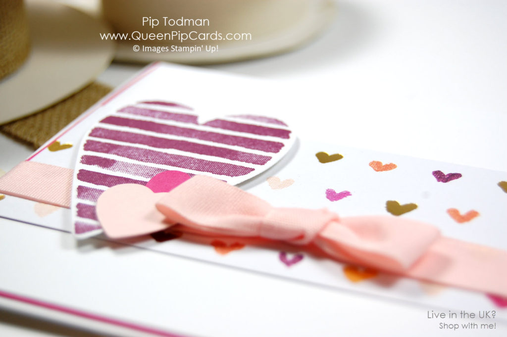 Valentines Day Hop with RemARKable InkBig Hop team. I love the Painted with Love DSP and Heart Happiness set! Pip Todman Crafty Coach & Stampin' Up! Demonstrator in the UK Queen Pip Cards www.queenpipcards.com Facebook: fb.me/QueenPipCards #queenpipcards #stampinup #papercraft #inspiringyourcreativity
