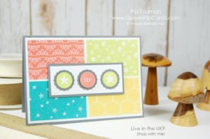 Bubble Over Card Ideas with Bubbles & Fizz Designer Series Paper and Bottles & Bubbles Framelits too! Fabulous designs for fun young card ideas. Stampin' Up! Spring 2018 Spring / Summer Pip Todman Crafty Coach & Stampin' Up! Top UK Demonstrator Queen Pip Cards www.queenpipcards.com Facebook: fb.me/QueenPipCards #queenpipcards #stampinup #papercraft #inspiringyourcreativity