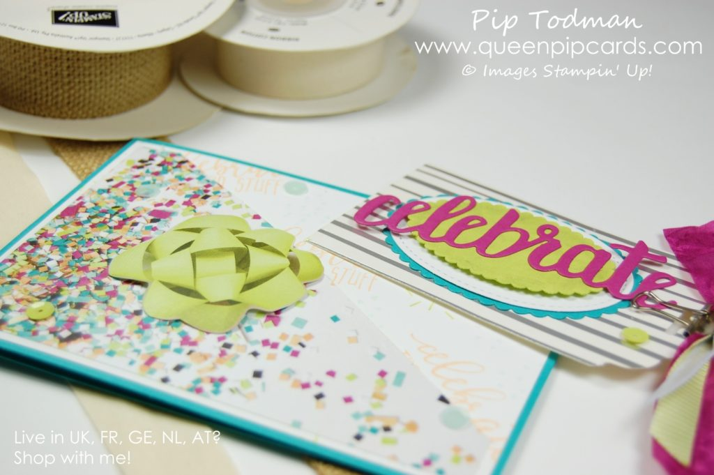 Celebrate You with the Alaskan Achievers Blog Hop I love making cards that are just a little different to the norm, and this one certainly hits the spot. Welcome to my Celebrate You Tag Card! Last Call for Sale-a-bration 2018 Saleabration 2018 Pip Todman Crafty Coach & Stampin' Up! Top UK Demonstrator Queen Pip Cards www.queenpipcards.com Facebook: fb.me/QueenPipCards #queenpipcards #stampinup #papercraft #inspiringyourcreativity #Saleabration2018