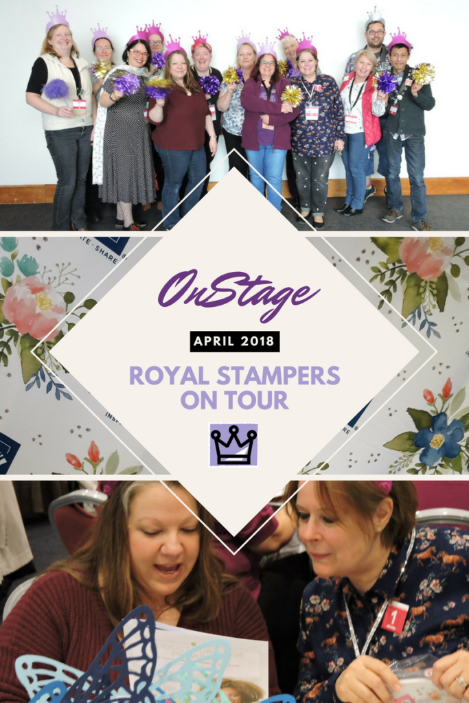 Rocking OnStage 2018 with Alaska Achievers Blog Hop Being with my Royal Stampers at OnStage is one of the BEST feelings ever! I love my team! Pip Todman Crafty Coach & Stampin' Up! Top UK Demonstrator Queen Pip Cards www.queenpipcards.com Facebook: fb.me/QueenPipCards #queenpipcards #stampinup #papercraft #inspiringyourcreativity