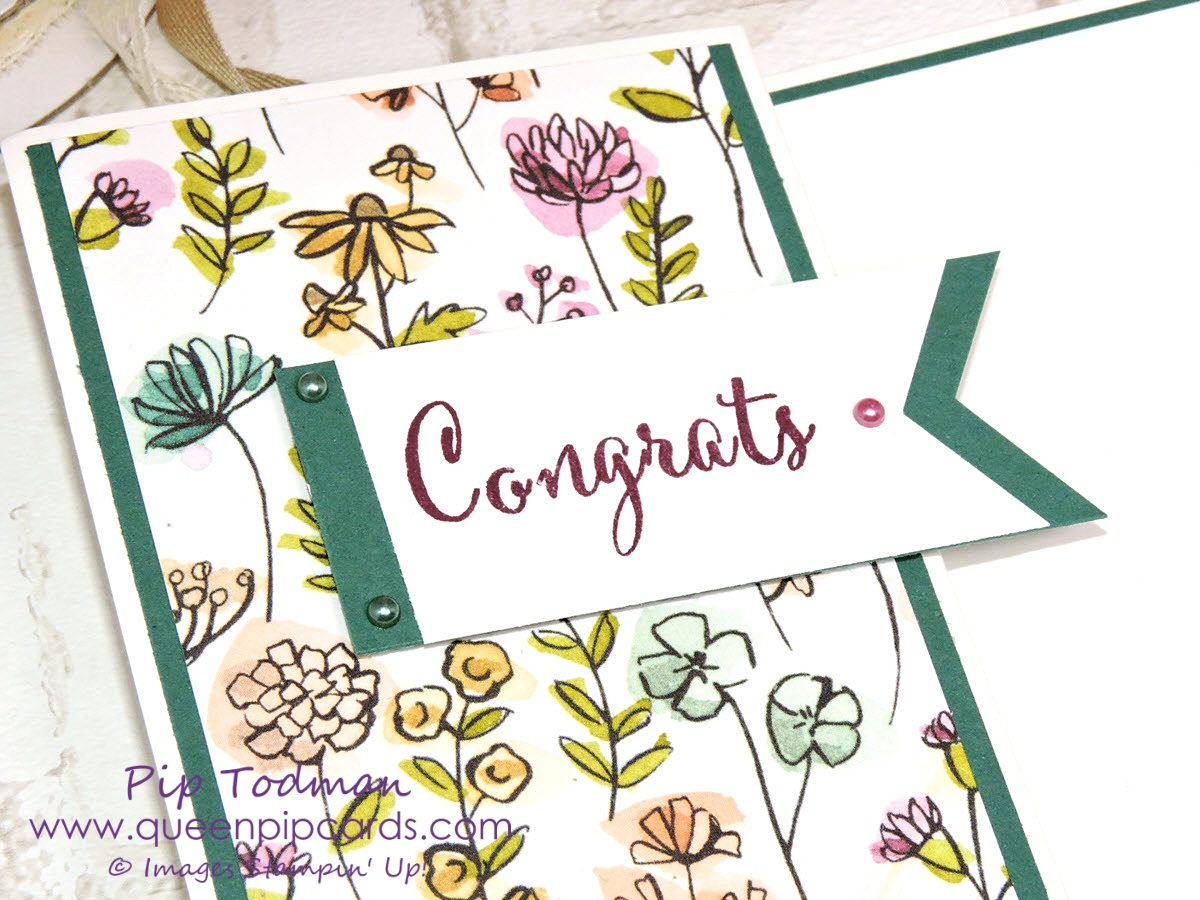 Congratulations Card Idea with Share What You Love Loving the mix and match of the Make a Difference and Share What You Love. Today I've made a congrats card and it's a Z fold card too! Pip Todman Crafty Coach & Stampin' Up! Top UK Demonstrator Queen Pip Cards www.queenpipcards.com Facebook: fb.me/QueenPipCards #queenpipcards #inspiringyourcreativity #stampinup #papercraft