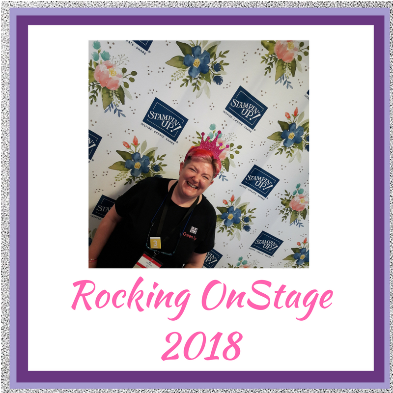 Rocking OnStage 2018 with Alaska Achievers Blog Hop Meeting with my extended Stampin' Up! family is amazing. Every time I come back with extra zing and zest for life and this amazing job I love! Pip Todman Crafty Coach & Stampin' Up! Top UK Demonstrator Queen Pip Cards www.queenpipcards.com Facebook: fb.me/QueenPipCards #queenpipcards #stampinup #papercraft #inspiringyourcreativity