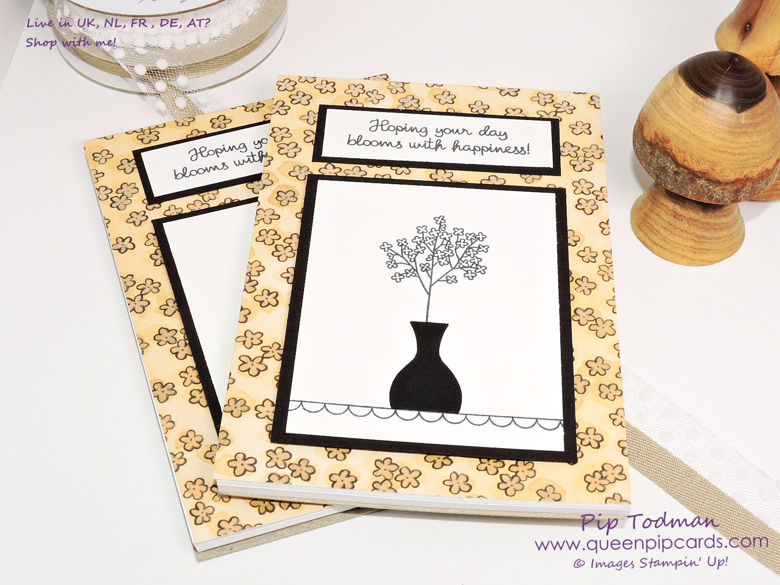 Easy Notepad Idea with Varied Vases! So cute but so easy to make. Quick, easy but stylish gifts for my customers. Paired with Share What You Love papers for that extra luxury feel! All products available from my online store here: http://bit.ly/QPCShop Pip Todman Crafty Coach & Stampin' Up! Top UK Demonstrator Queen Pip Cards www.queenpipcards.com Facebook: fb.me/QueenPipCards #queenpipcards #inspiringyourcreativity #stampinup #papercraft