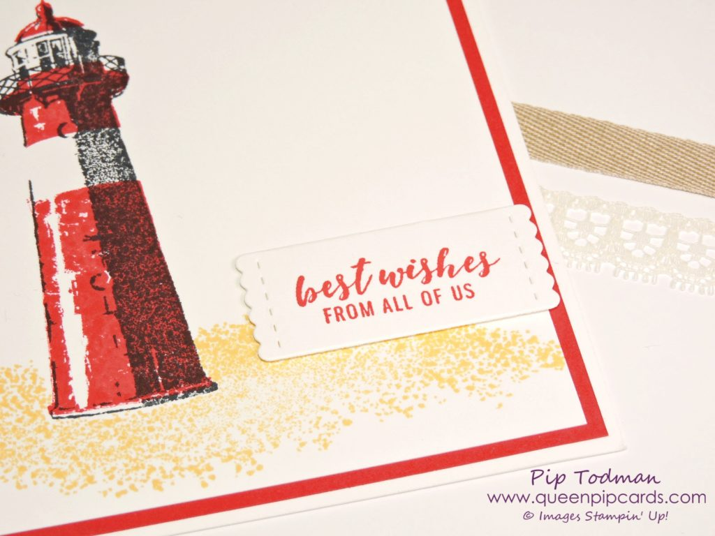 High Tide Lighthouse Stamp is perfect for mens cards or simply for a card that's all occasions!! All Stampin' Up! products available from my online store here: http://bit.ly/QPCShop Pip Todman Crafty Coach & Stampin' Up! Top UK Demonstrator Queen Pip Cards www.queenpipcards.com Facebook: fb.me/QueenPipCards #queenpipcards #simplystylish #inspiringyourcreativity #stampinup #papercraft