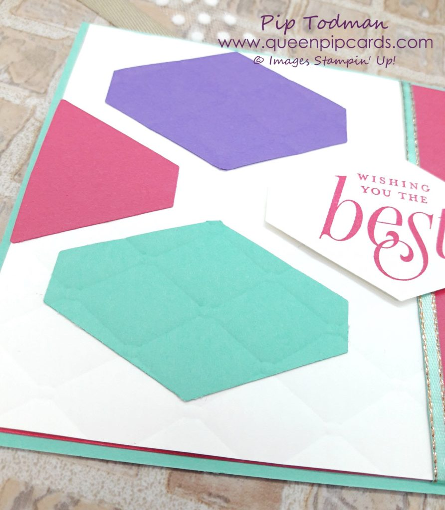 """Tailored Tag Meets Tufted Embossing Folder The new Dynamic Embossing Folder """"Tufted"""" is gorgeous and pairs beautifully with the Tailored Tag punch! Check out this simply stylish card video and see what you think! All Stampin' Up! products available from my online store here: http://bit.ly/QPCShop Pip Todman Crafty Coach & Stampin' Up! Top UK Demonstrator Queen Pip Cards www.queenpipcards.com Facebook: fb.me/QueenPipCards #queenpipcards #simplystylish #inspiringyourcreativity #stampinup #papercraft"""