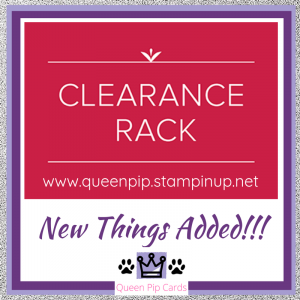 Clearance Rack updated - shop now at http://bit.ly/QPCShop