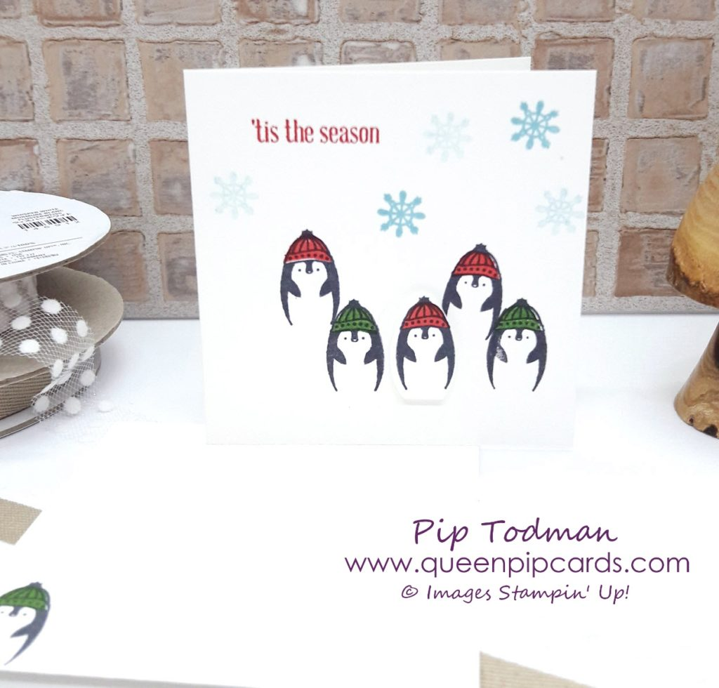 Making Everyday Bright with Pip Todman & Stampin' Up! For fun, every day cards, with an adorable Penguin especially for Christmas, this stamp set is fab. Coordinates with the Light Bulb Punch to! All Stampin' Up! products are / will be available from my online store here: http://bit.ly/QPCShop Pip Todman Crafty Coach & Stampin' Up! Top UK Demonstrator Queen Pip Cards www.queenpipcards.com Facebook: fb.me/QueenPipCards #queenpipcards #simplystylish #inspiringyourcreativity #stampinup #papercraft