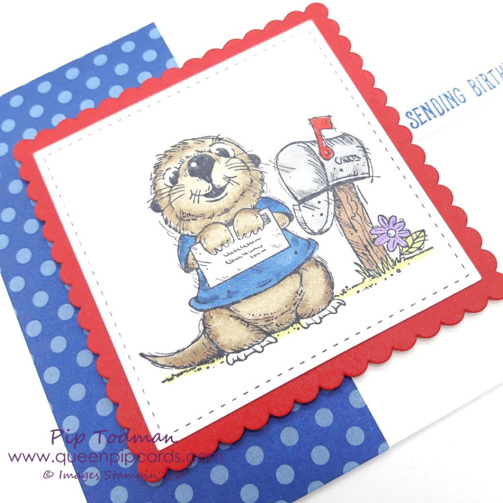 Otterly Gorgeous Postcard Pals!! I'm loving the Otter from Postcard Pals! And the Platypus and the Pelican! So much to love, so quirky and unique! Stand out from the crowd with these stamps! All Stampin' Up! products are / will be available from my online store here: http://bit.ly/QPCShop Pip Todman Crafty Coach & Stampin' Up! Top UK Demonstrator Queen Pip Cards www.queenpipcards.com Facebook: fb.me/QueenPipCards #queenpipcards #simplystylish #inspiringyourcreativity #stampinup #papercraft