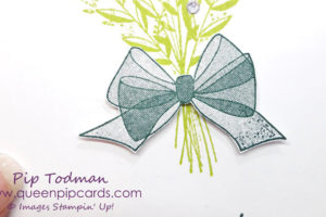 Simple Note Card With Wishing You Well can look so stunning in it's simplicity. With the amazing new Distinktive stamps from Stampin' Up! you can great gauzy bows suitable for any occassion! All Stampin' Up! products are / will be available from my online store here: http://bit.ly/QPCShop Pip Todman Crafty Coach & Stampin' Up! Top UK Demonstrator Queen Pip Cards www.queenpipcards.com Facebook: fb.me/QueenPipCards #queenpipcards #simplystylish #inspiringyourcreativity #stampinup #papercraft
