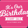 Flash Sale for Treats on Tuesday! Birthday presents are always nice, and today we're getting 15% off from Stampin' Up! selected stamp sets! All Stampin' Up! products are / will be available from my online store here: http://bit.ly/QPCShop Pip Todman Crafty Coach & Stampin' Up! Top UK Demonstrator Queen Pip Cards www.queenpipcards.com Facebook: fb.me/QueenPipCards #queenpipcards #simplystylish #inspiringyourcreativity #stampinup #papercraft