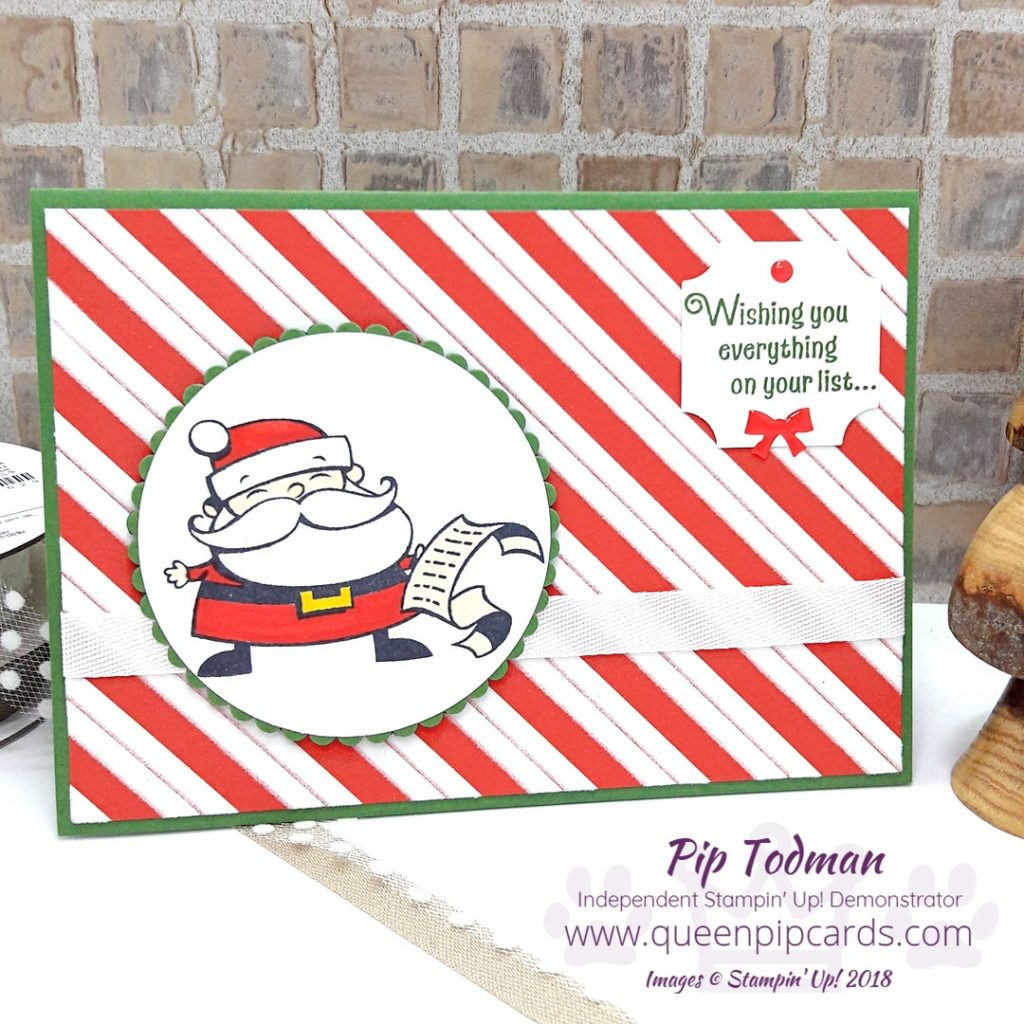 3 Cards with Santa's Workshop and Stampin' Blends! Yes today I'm sharing 3 cards all using the Signs of Santa stampset from Stampin' Up! Showing the full suite of products and how they all coordinate together plus tips on blending your Stampin' Blends for the perfect colour! All Stampin' Up! products are / will be available from my online store here: http://bit.ly/QPCShop Pip Todman Crafty Coach & Stampin' Up! Top UK Demonstrator Queen Pip Cards www.queenpipcards.com Facebook: fb.me/QueenPipCards #queenpipcards #simplystylish #inspiringyourcreativity #stampinup #papercraft