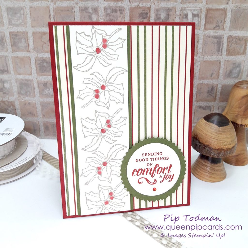 Stylish Christmas Card with Timeless Tidings! Such easy to make cards that are great for men and for general card giving this season! Especially for those friends who don't love glitter (weird I know - but true!) All Stampin' Up! products are / will be available from my online store here: http://bit.ly/QPCShop Pip Todman Crafty Coach & Stampin' Up! Top UK Demonstrator Queen Pip Cards www.queenpipcards.com Facebook: fb.me/QueenPipCards #queenpipcards #simplystylish #inspiringyourcreativity #stampinup #papercraft