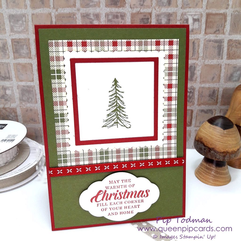 Timeless Tidings Window Frame Card Idea using the Square Layering Framelits from Stampin' Up! A simple yet effective way of adding some dimension to your card making. Create a frame to place your focal stamped image into! All Stampin' Up! products are / will be available from my online store here: http://bit.ly/QPCShop Pip Todman Crafty Coach & Stampin' Up! Top UK Demonstrator Queen Pip Cards www.queenpipcards.com Facebook: fb.me/QueenPipCards #queenpipcards #simplystylish #inspiringyourcreativity #stampinup #papercraft