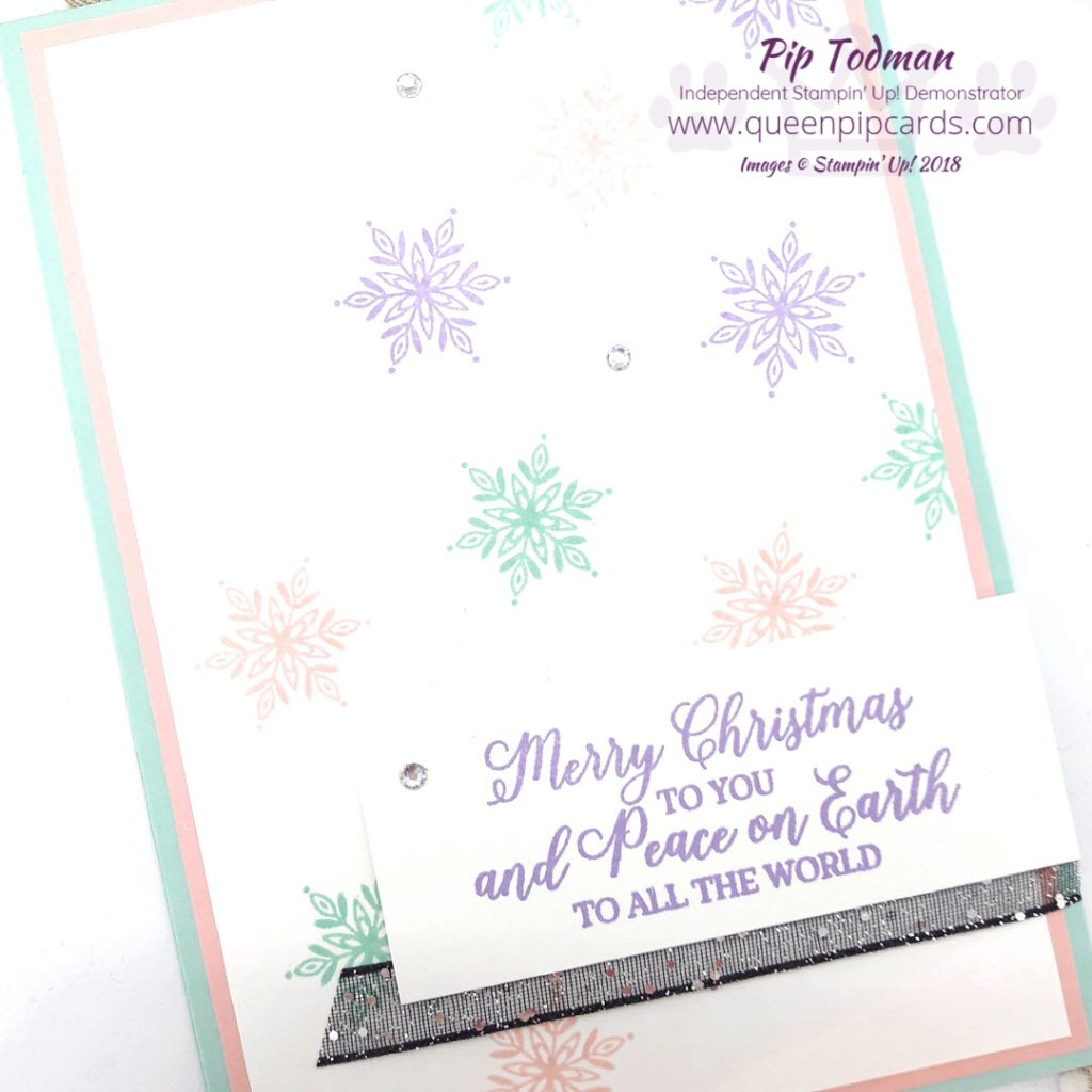 Snowflake Overload is on the cards this week! Literally! I have no excuses and I'm not sorry. I love snowflakes and especially the Snow is Glistening stamp set, so get ready for a week of snowflakes! These cards are really so quick and easy to make with limited supplies. Which you can purchase from me in my shop. All Stampin' Up! products are / will be available from my online store here: http://bit.ly/QPCShop Pip Todman Crafty Coach & Stampin' Up! Top UK Demonstrator Queen Pip Cards www.queenpipcards.com Facebook: fb.me/QueenPipCards #queenpipcards #simplystylish #inspiringyourcreativity #stampinup #papercraft