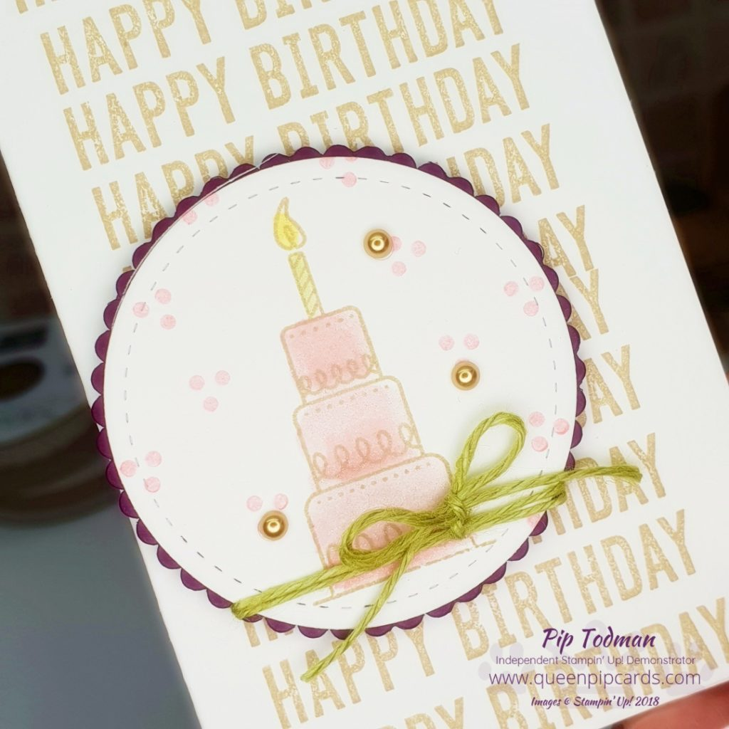 Amazing Life Happy Birthday Card Is What Im Sharing Today Along With The