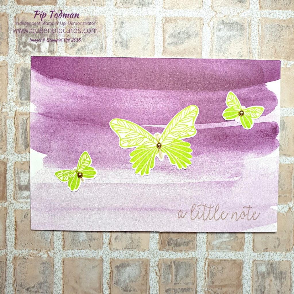 Beautiful Butterflies coming soon! I'm here sharing two cards made with the Butterfly Gala bundle today. Together with the gorgeous Botanical Butterfly paper which you get for free with any order over £45!! It's all coming soon on the 3rd Jan 2019! All Stampin' Up! products are / will be available from my online store here: http://bit.ly/QPCShop Pip Todman Crafty Coach & Stampin' Up! Top UK Demonstrator Queen Pip Cards www.queenpipcards.com Facebook: fb.me/QueenPipCards #queenpipcards #simplystylish #inspiringyourcreativity #stampinup #simplestamping #papercraft