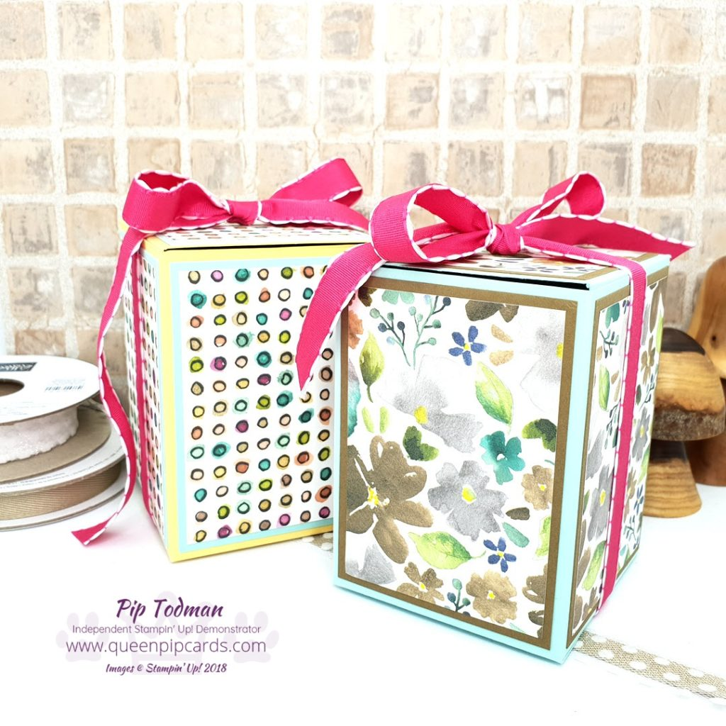 Happy Birthday Flip Top Box! Well 2 boxes and a matching card actually! In today's video tutorial I show you how to create this gorgeous box in two colour ways with a card to match! All Stampin' Up! products are / will be available from my online store here: http://bit.ly/QPCShop Pip Todman Crafty Coach & Stampin' Up! Top UK Demonstrator Queen Pip Cards www.queenpipcards.com Facebook: fb.me/QueenPipCards #queenpipcards #simplystylish #inspiringyourcreativity #stampinup #papercraft