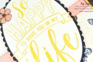 Happy To Have You In My Life! What a wonderful way to start the new year by telling you all how much you mean to me! The Amazing Life stamp set will be available 3rd January so you can tell everyone else you're thankful for too! All Stampin' Up! products are / will be available from my online store here: http://bit.ly/QPCShop Pip Todman Crafty Coach & Stampin' Up! Top UK Demonstrator Queen Pip Cards www.queenpipcards.com Facebook: fb.me/QueenPipCards #queenpipcards #simplystylish #inspiringyourcreativity #stampinup #simplestamping #papercraft