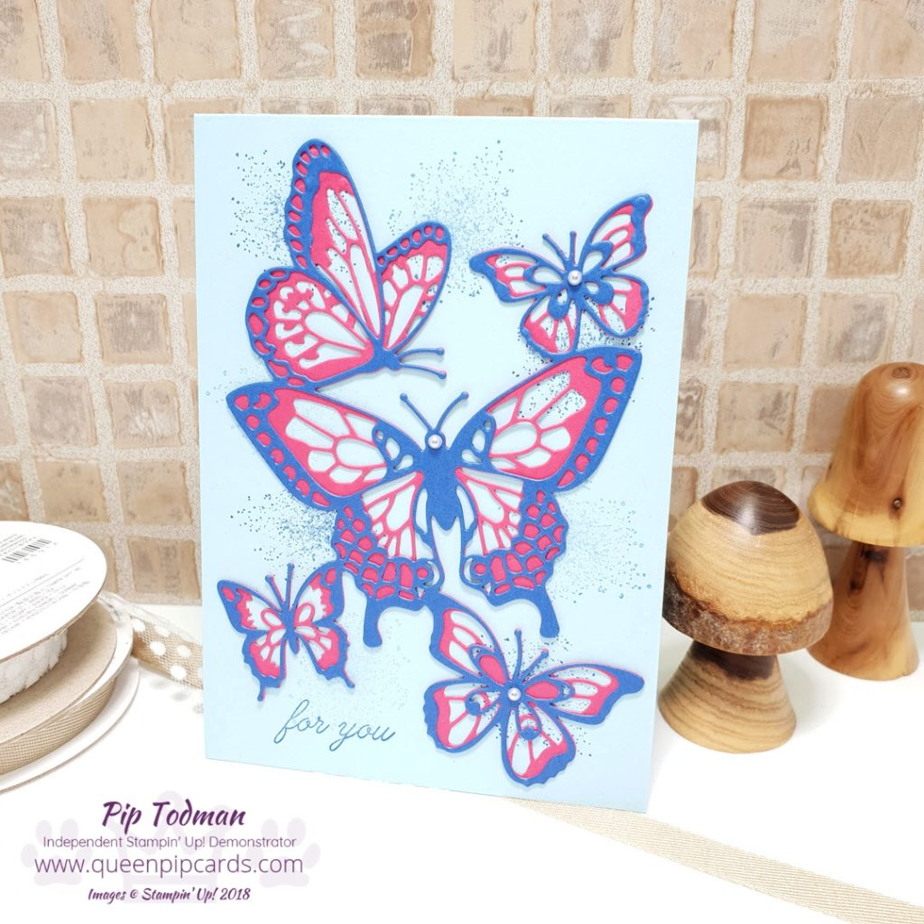 Spring Is In The Air Stampin' Creative Blog Hop Today I'm sharing a piece of home decor, a gift for a friend to cheer them up in the winter months. It reminds us Spring is coming! I love the Butterflies in this thinlit set available 3rd Jan 2019 from my store. Check out the hop and see what everyone else has made! All Stampin' Up! products are / will be available from my online store here: http://bit.ly/QPCShop Pip Todman Crafty Coach & Stampin' Up! Top UK Demonstrator Queen Pip Cards www.queenpipcards.com Facebook: fb.me/QueenPipCards #queenpipcards #simplystylish #inspiringyourcreativity #stampinup #simplestamping #papercraft