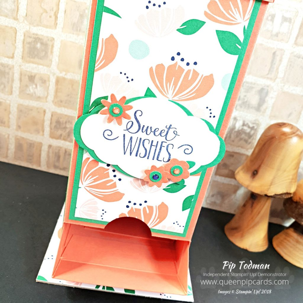 Table Decoration Chocolate Dispenser A fab video project for you this week. A Chocolate treat dispenser for Christmas but also for Spring! With a sneak peek of new products too! All Stampin' Up! products are / will be available from my online store here: http://bit.ly/QPCShop Pip Todman Crafty Coach & Stampin' Up! Top UK Demonstrator Queen Pip Cards www.queenpipcards.com Facebook: fb.me/QueenPipCards #queenpipcards #simplystylish #inspiringyourcreativity #stampinup #simplestamping #papercraft