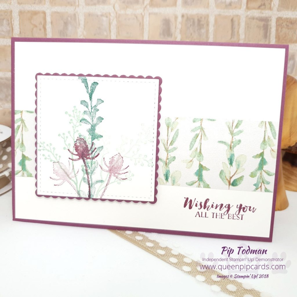 Post Christmas Simply Stylish Card Class I've designed some yummy cards for today's class. We love to get together between Christmas and New Year! Do a spot of crafting and catch up on who got what for Christmas! This card uses Country Home which is a beautiful set and carrying forward for the new year - yay! All Stampin' Up! products are / will be available from my online store here: http://bit.ly/QPCShop Pip Todman Crafty Coach & Stampin' Up! Top UK Demonstrator Queen Pip Cards www.queenpipcards.com Facebook: fb.me/QueenPipCards #queenpipcards #simplystylish #inspiringyourcreativity #stampinup #simplestamping #papercraft
