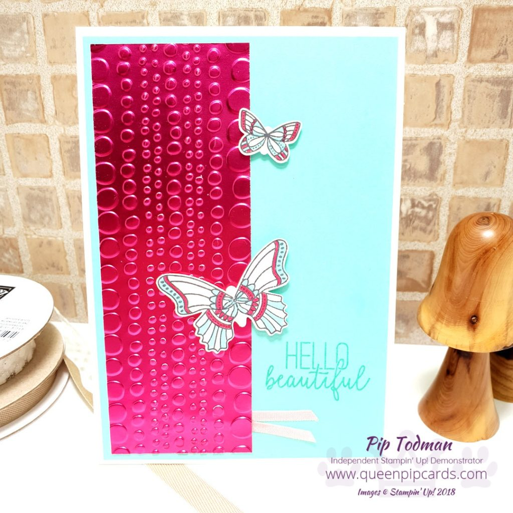 Funky Foil Embossed 3 Ways is what I'm sharing in today's video and blog post. Enjoy all the ways you can use embossing with these beautiful new foil sheets from Stampin' Up! FREE when you purchase over £45 worth of your favourite crafting products. All the details on what I used to make all 3 cards are on my blog - just click the link. All Stampin' Up! products are / will be available from my online store here: http://bit.ly/QPCShop Pip Todman Crafty Coach & Stampin' Up! Top UK Demonstrator Queen Pip Cards www.queenpipcards.com Facebook: fb.me/QueenPipCards #queenpipcards #simplystylish #inspiringyourcreativity #stampinup #simplestamping #papercraft