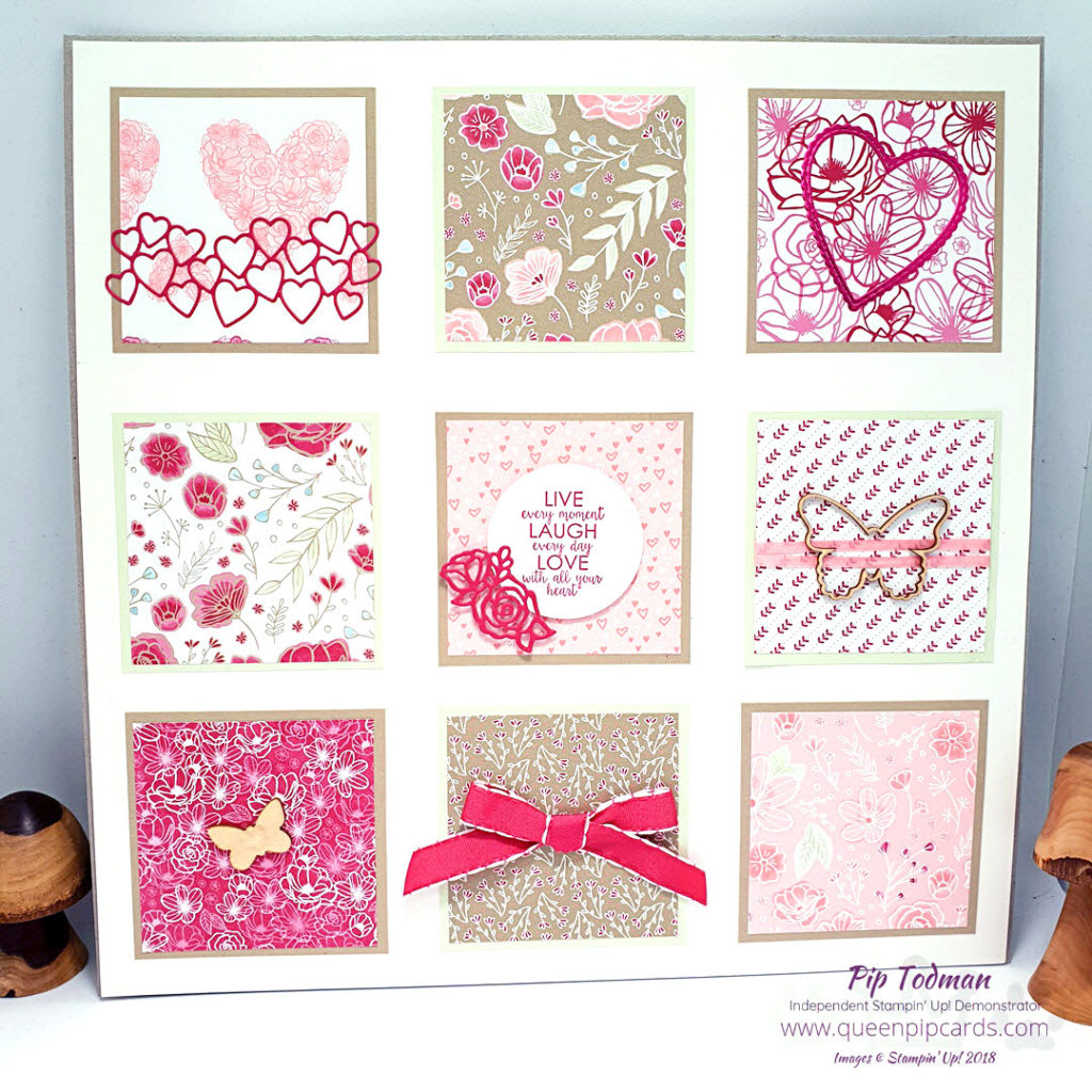Love and Friendship Sampler Class Kit is now available! This was my most popular Team Training make I think - ever! So I decided to offer it out to you all as a class kit. I am loving making samplers and this one will be sure to turn heads! Just £21 including all consumable materials - you just need ink, a sentiment and adhesives at home! All Stampin' Up! products are / will be available from my online store here: http://bit.ly/QPCShop Pip Todman Crafty Coach & Stampin' Up! Top UK Demonstrator Queen Pip Cards www.queenpipcards.com Facebook: fb.me/QueenPipCards #queenpipcards #simplystylish #inspiringyourcreativity #stampinup #simplestamping #papercraft