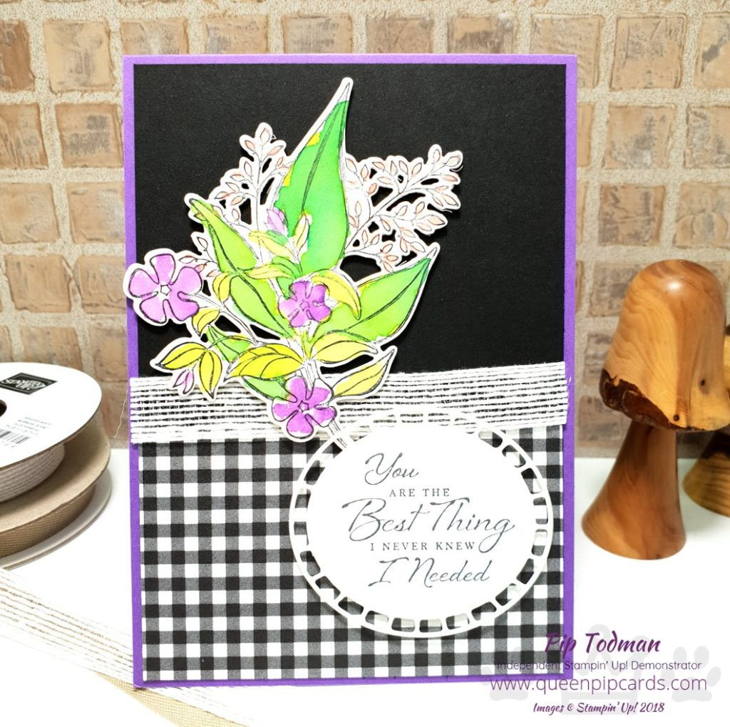 Striking Wonderful Romance Card idea Do you ever have a colour combo you just keep coming back to? For me it's black and white with a splash of colour. Here it is again showing up in today's video. I love these flower, they beg to be watercoloured on shimmery white card! All the details on my blog with more photos! All Stampin' Up! products are / will be available from my online store here: http://bit.ly/QPCShop Pip Todman Crafty Coach & Stampin' Up! Top UK Demonstrator Queen Pip Cards www.queenpipcards.com Facebook: fb.me/QueenPipCards #queenpipcards #simplystylish #inspiringyourcreativity #stampinup #simplestamping #papercraft
