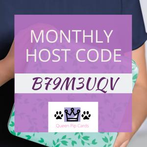 Host Code B79M3UQV