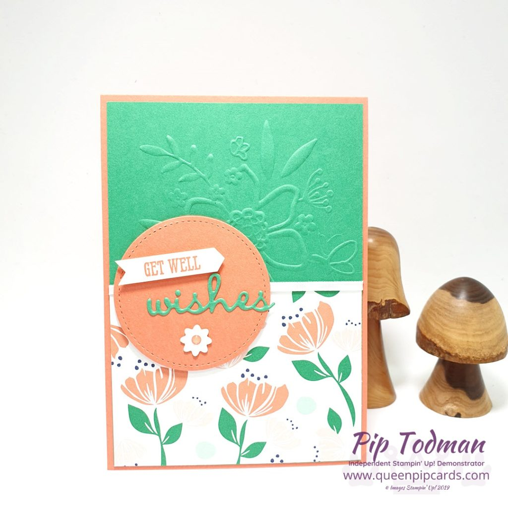 Fabulous Flowers With Stampin' Creative blog hop! Plus Well Said Bundle and some Floral embossing! So many fabulous flowers to find! Shop my online store here: http://bit.ly/QPCShop Pip Todman www.queenpipcards.com #queenpipcards #simplystylish #stampinup #simplestamping #papercraft