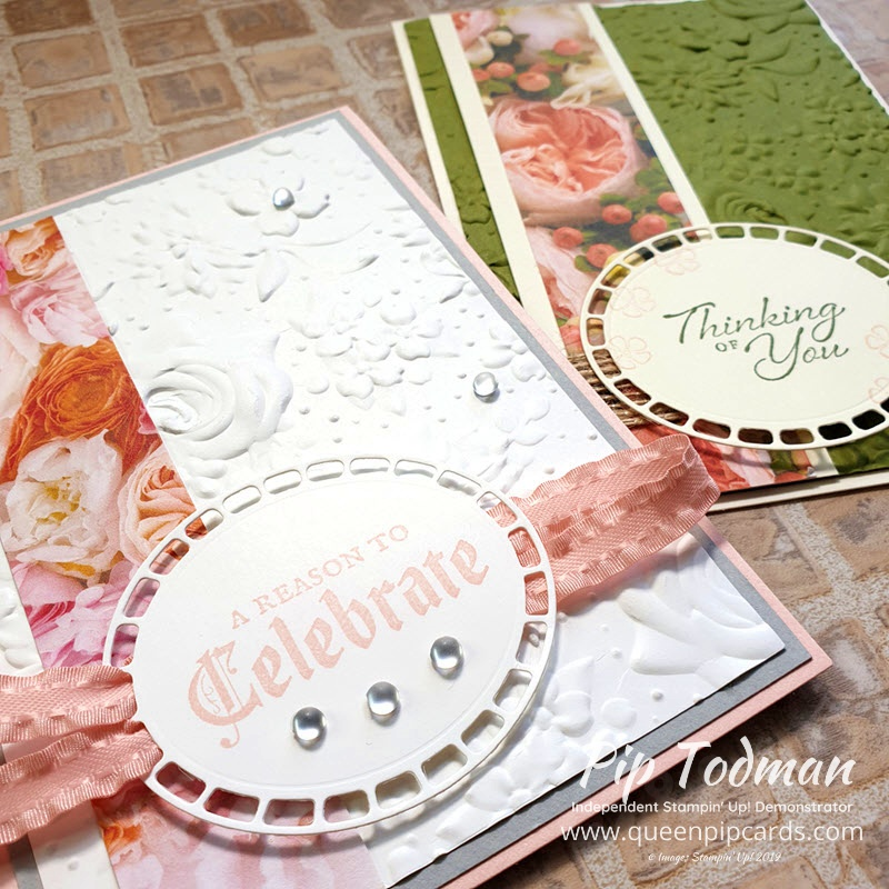Moody Monday Wonderful Romance Florals for my craft Retreat this week! Loving the new Country Florals Embossing Folder and I show off my retreat goodies in today's video! Shop my online store here: http://bit.ly/QPCShop Pip Todman www.queenpipcards.com #queenpipcards #simplystylish #stampinup #simplestamping #papercraft