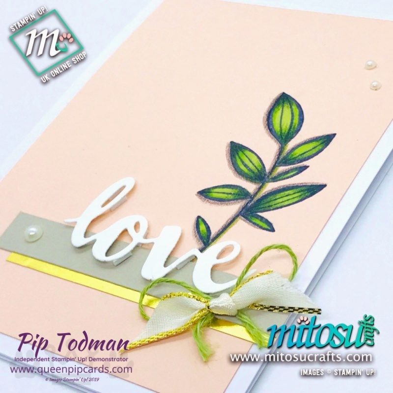 Showcasing Falling Flowers with By Royal Appointment Mitosu Crafts Pip Todman www.queenpipcards.com Stampin' Up! Independent Demonstrator UK