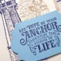 A simple Sail Away notecard for you today. For those who don't have a die cutting machine, Snips and a Punch work great! Pip Todman www.queenpipcards.com Stampin' Up! Independent Demonstrator UK