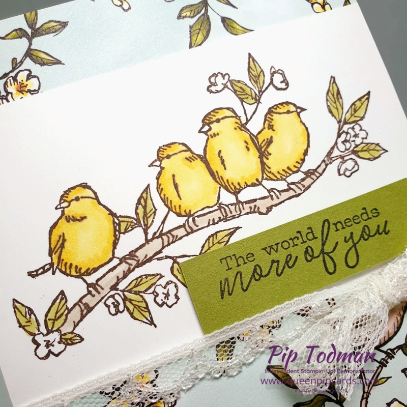 Bird Ballard Is All About Friendship! Join the Royal Stampers today and find new friends today. Pip Todman www.queenpipcards.com Stampin' Up! Independent Demonstrator UK