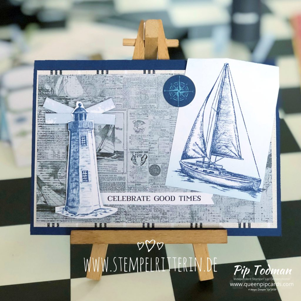Without stampin'? Surely you can't have Stampin' Up! like that? Yes you can with the fabulous Memorie and More card packs. Pip Todman www.queenpipcards.com Stampin' Up! Independent Demonstrator UK