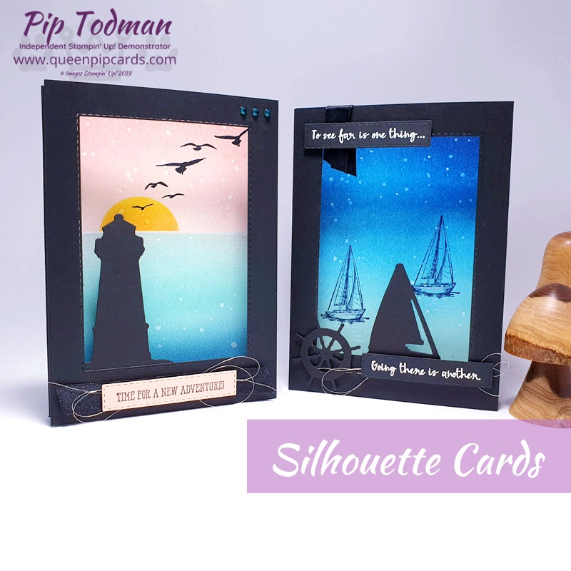 3D Silhouette Cards are easy to make but give you that WOW factor in your card giving. Learn how to make one here today. Pip Todman www.queenpipcards.com Stampin' Up! Independent Demonstrator UK