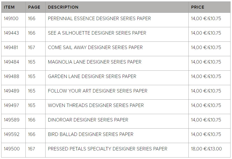 Buy Three Get One Free Designer Series Paper