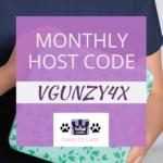 October 2019 Host Code
