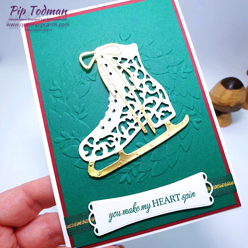 Maui Achievers Blog Hop with Free Skate Bundle! Fun times with a beautiful, classic stamp and die bundle. Pip Todman www.queenpipcards.com Stampin' Up! Independent Demonstrator UK