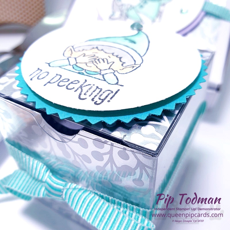 Table Favours With Hashtag Elfie Pip Todman www.queenpipcards.com Stampin' Up! Independent Demonstrator UK
