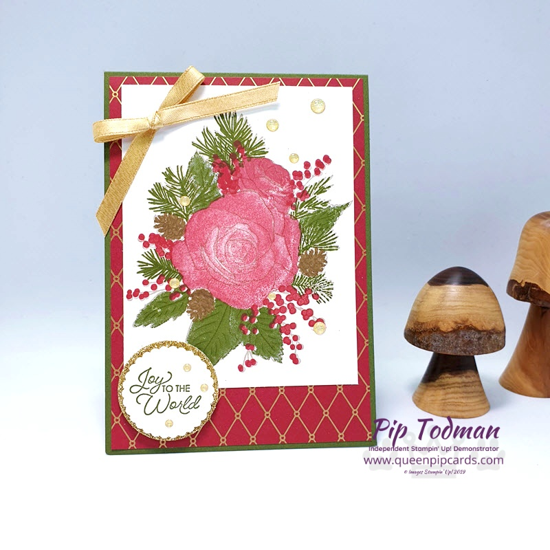 Perfect Stamping With Christmastime Is Here Pip Todman www.queenpipcards.com Stampin' Up! Independent Demonstrator UK
