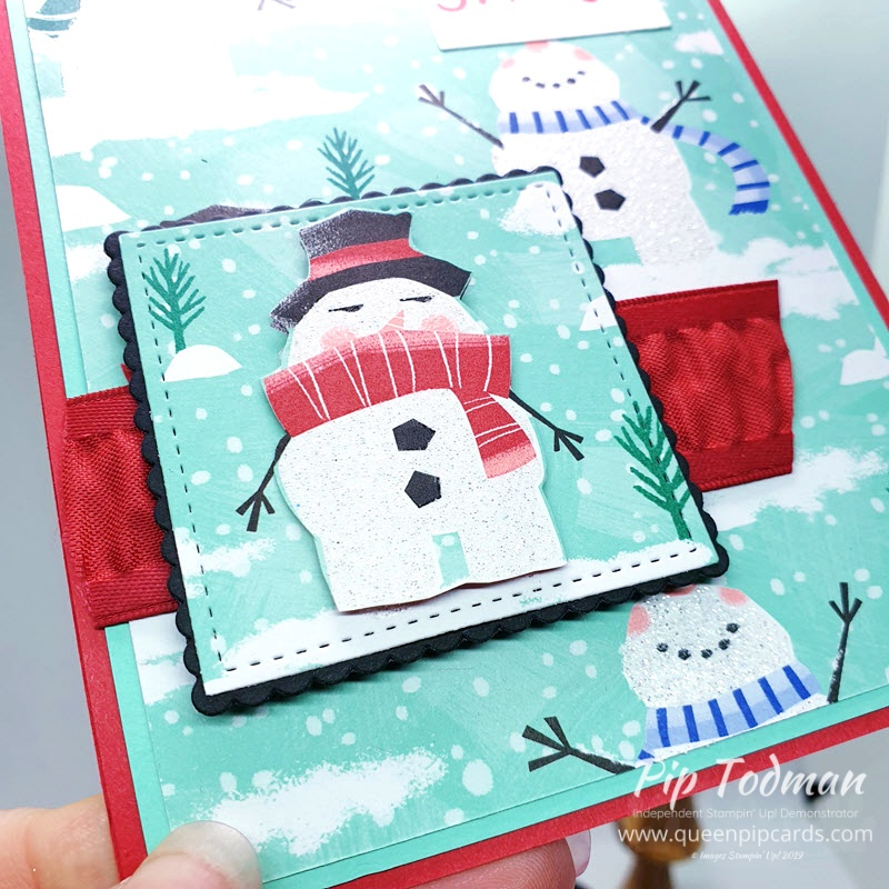 Pretty Cards and Paper Let It Snow Fun is our theme this month! Hop around to see the Let It Snow fun to be had with this paper pack! Pip Todman www.queenpipcards.com Stampin' Up! Independent Demonstrator UK