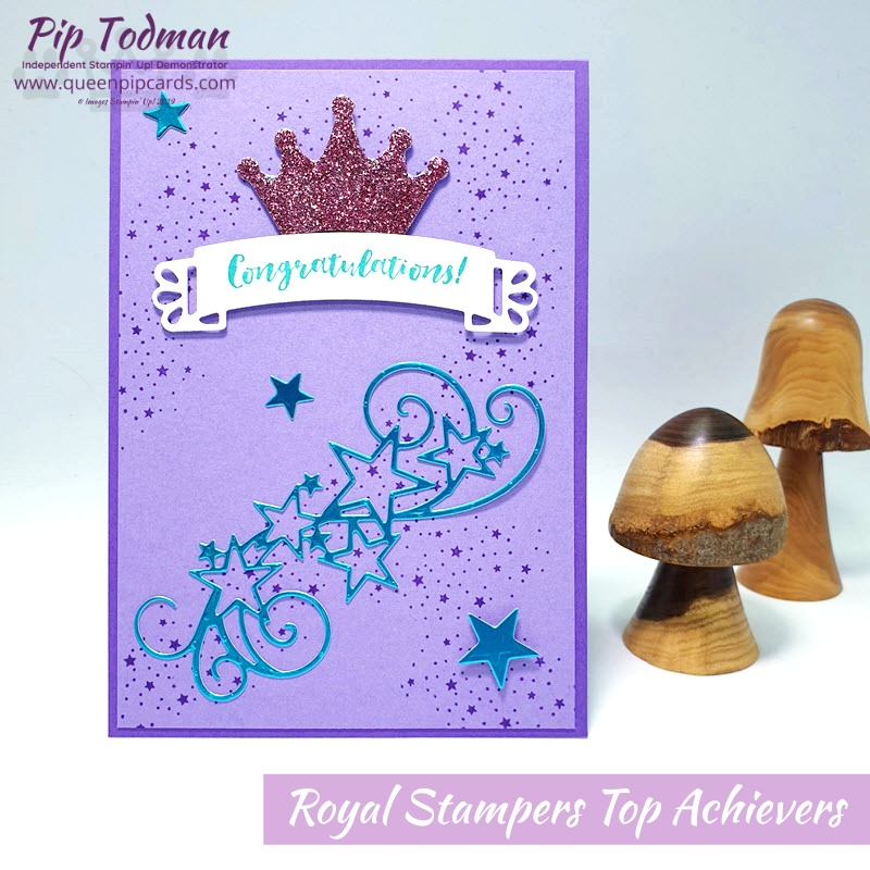 Pip Todman Stampin Up Demonstrator Royal Stampers Top Achievers Card