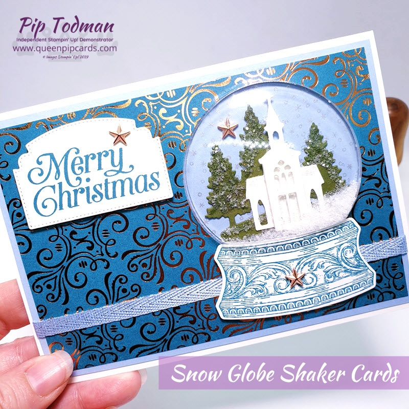 Happy Christmas Free Shipping from Queen Pip! Pip Todman www.queenpipcards.com Stampin' Up! Independent Demonstrator UK